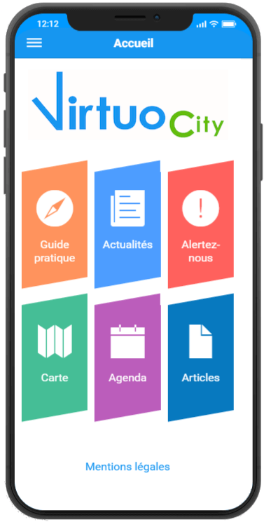 Application mobile VirtuoCity